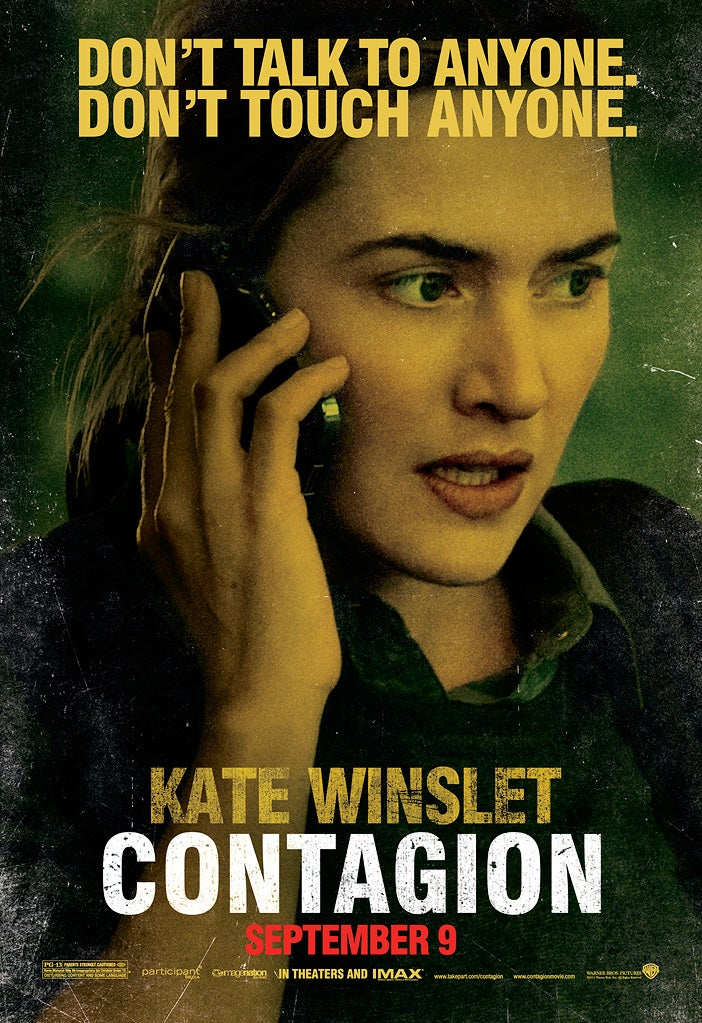 Contagion character posters