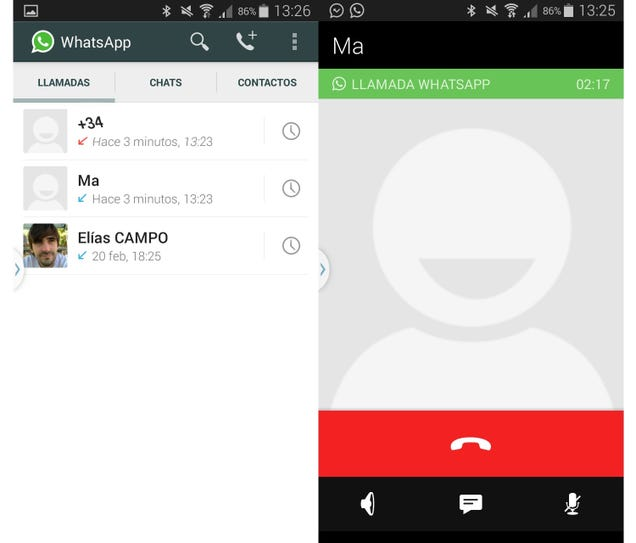 Las llamadas en WhatsApp ya están activas en Android sin invitación Lmb42cfelgnx0x6pk7ga