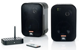 JBL On Air Control 2.4G: Wireless Speakers With Plenty of Wires
