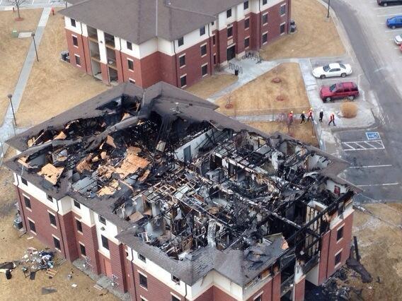 Nebraska Dorm Fire