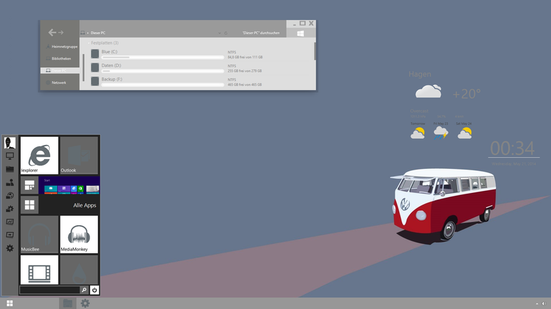 The Microbus Desktop