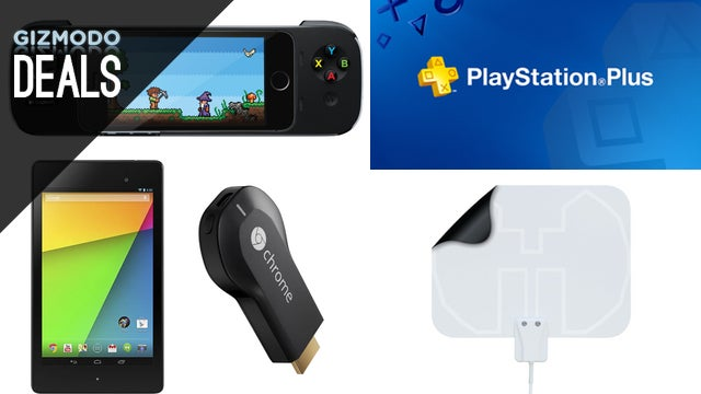 Charge Four Gadgets at Once, Nexus 7 with a Free Chromecast, PS+