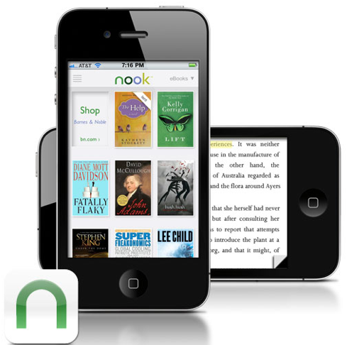 Nook iPhone App Adds Those Juicy iPad Features