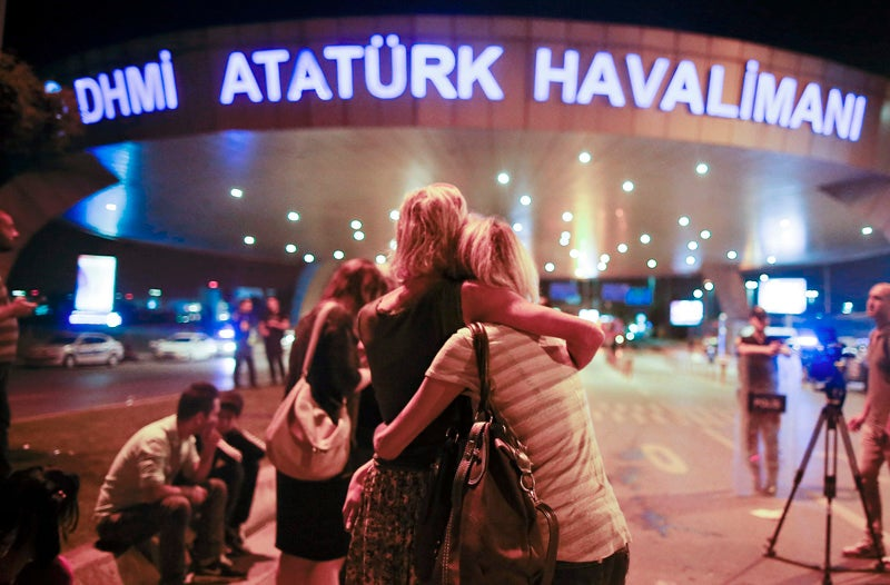 """Turkish Prime Minister Says Early Signs """"Point to ISIS"""" in Istanbul Airport Attack"""