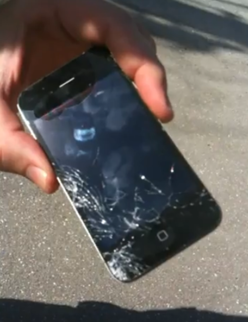 This Is What'll Happen When You Drop Your iPhone 4 Repeatedly