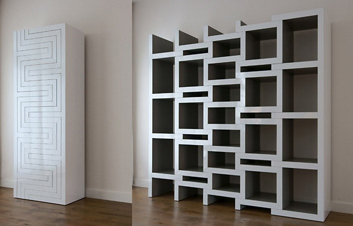 The REK Bookcase Grows to Accommodate Your Collection