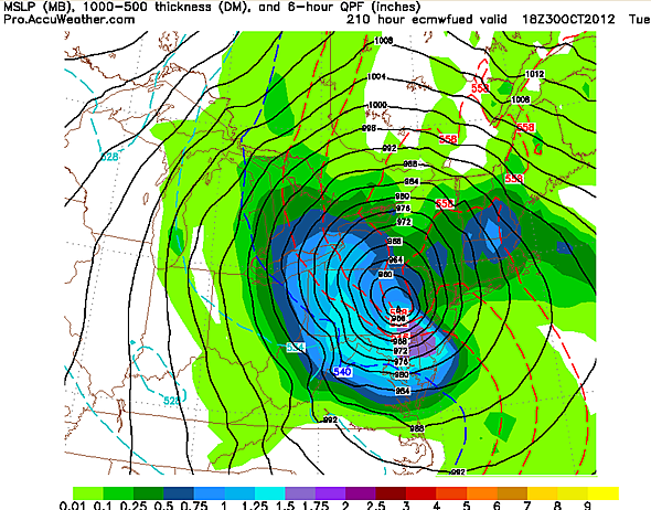 There's A Small Chance Tropical Storm Sandy Could Become The Great Halloween Storm