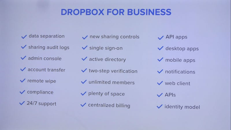 Businesses Are Getting a Big Boost from Dropbox