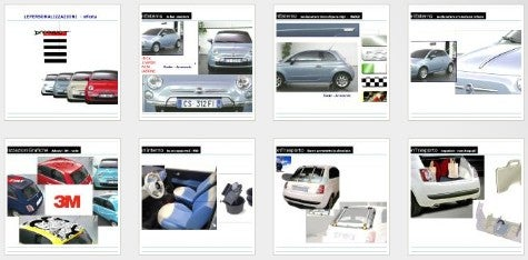 Spy Photos: Fiat 500 Presentation Leaked