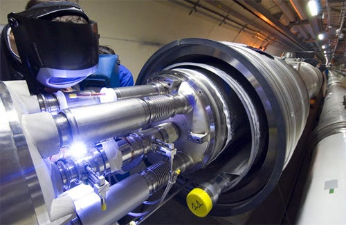 LHC Shut Down After a Ton of Liquid Helium Leaks into Tunnel