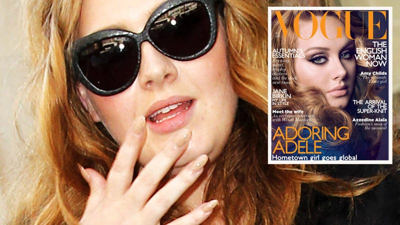 Adele to Vogue: 'I Puke Quite a Lot'
