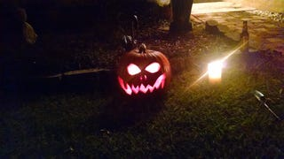 i don't think we had a show me your Jack o Lantern post? Halloween countdown 360 days.