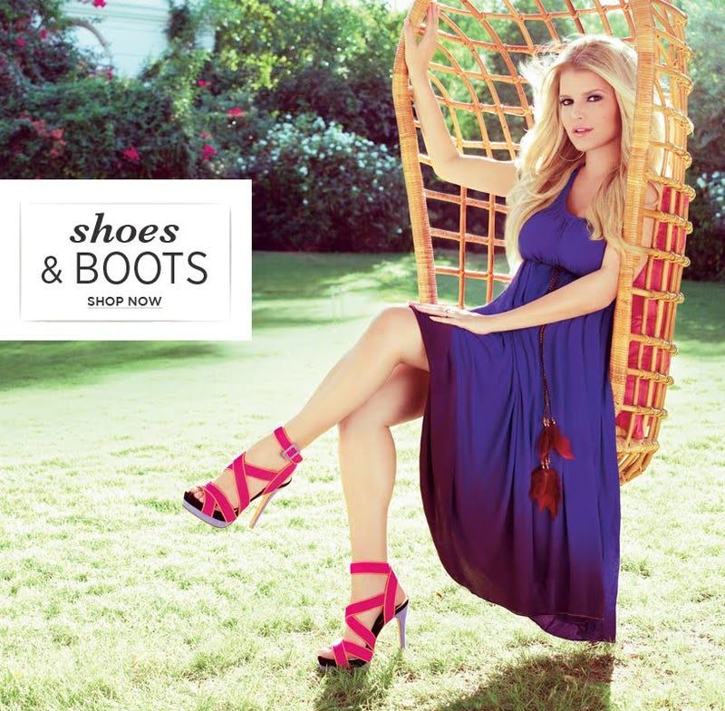 Jessica Simpson Sells Christian Louboutin Knockoffs