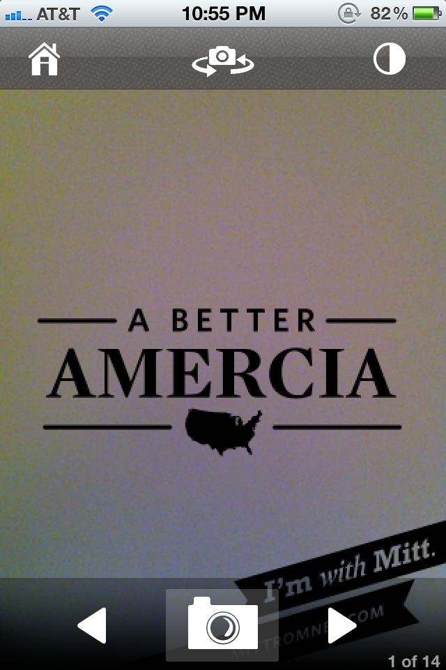 Mitt Romney's New App Misspells America, Twitter Goes Wild