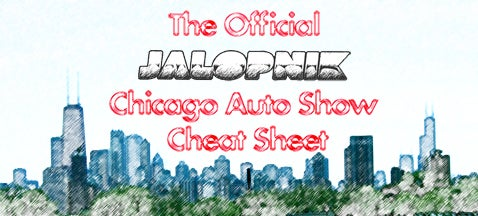 Jalopnik's Official 2008 Chicago Auto Show Cheat Sheet