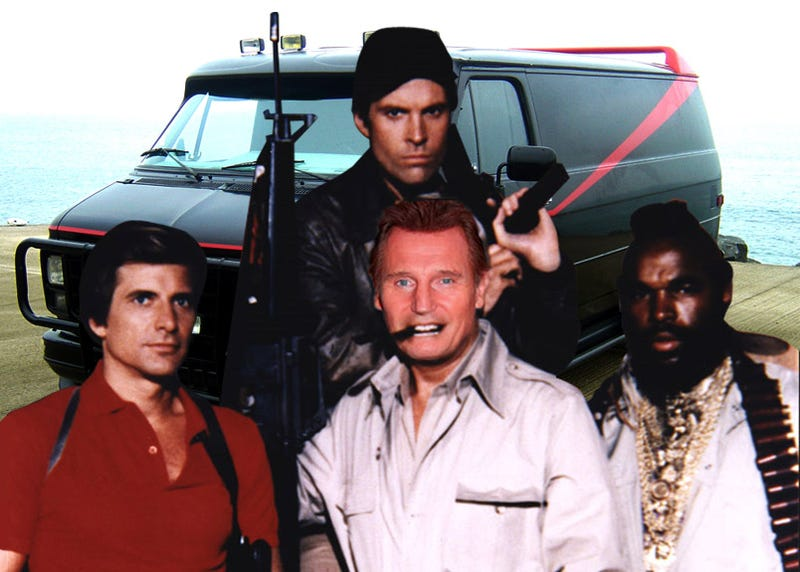 "REPORT: Liam Neeson To Play ""Hannibal"" Smith In ""A-Team"" Movie"