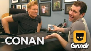 Billy Eichner Teaches Conan How to Hook Up on Grindr