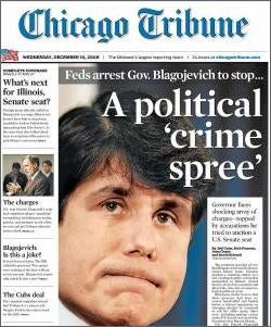 Blago Drama Gives Newspapers Fleeting Feeling Of Importance