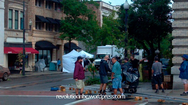 Revolution - Episode 105 Set Photos