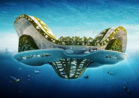 Architect Dreams Up Lilypad: Floating City Ark for Eco-Refugees