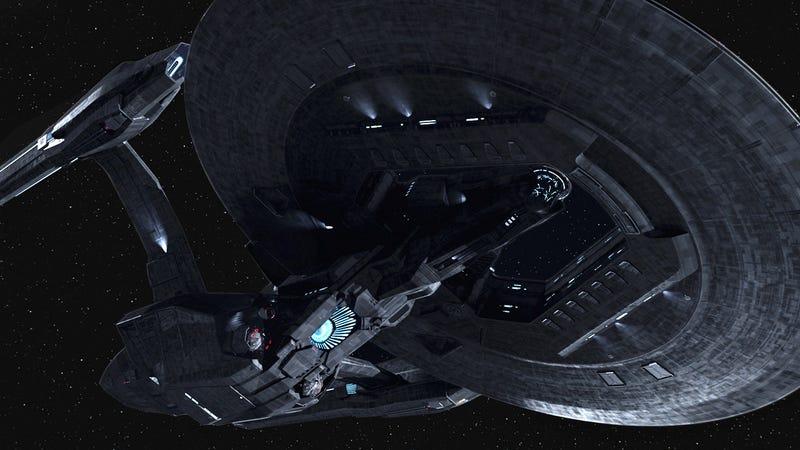 This Is the Badass Dark Enterprise Kirk Battles In the Next Star Trek Film