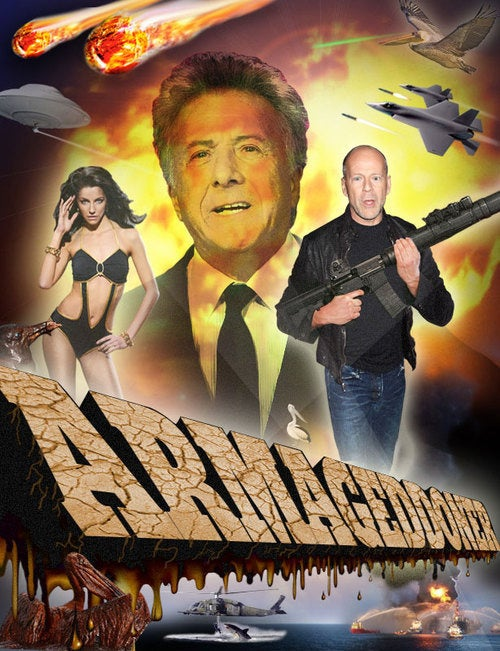 Damon Lindelof's fake movie for the BP oil spill is Armageddon 2. It should be Lost 2.