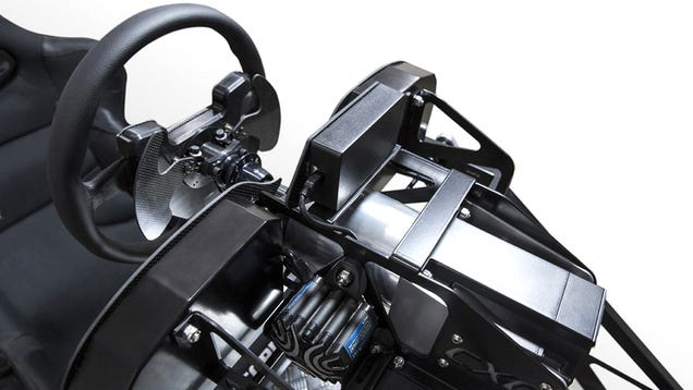 This Simulator's Steering Wheel Is Strong Enough To Break Your Wrists