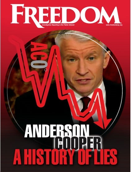 Scientology's Wacky Indictment of Anderson Cooper