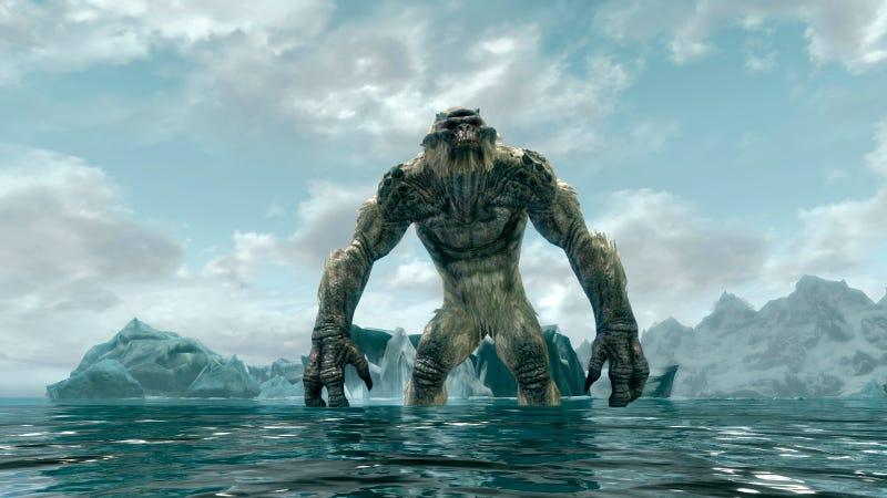 Skyrim Gets Giant Monsters Courtesy Of Fantastic Mod