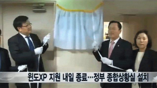 South Korea Unveils a Windows XP... Task Force