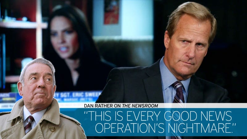 Climax Time: Dan Rather Recaps The Newsroom