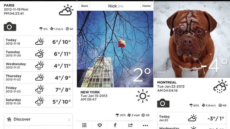 Google Field Trip, Take Weather, and More