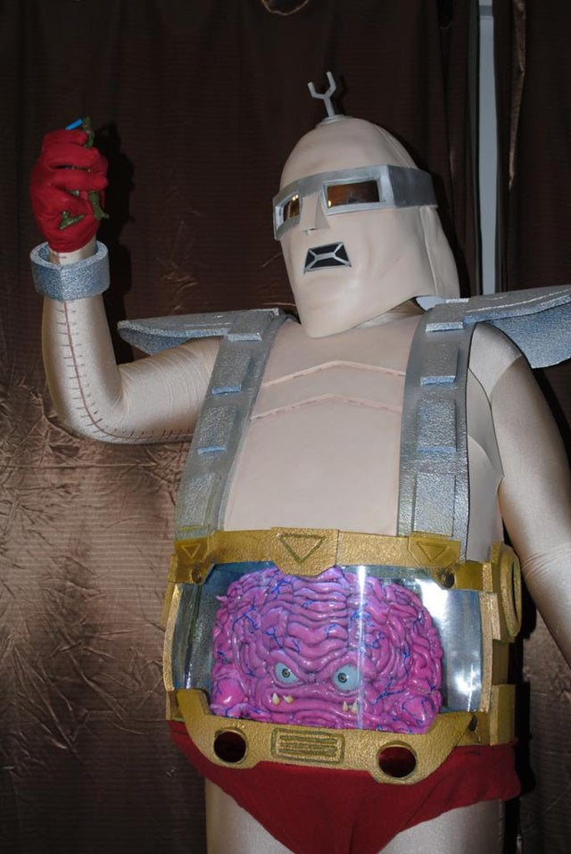 Gandalf the Fuchsia, Pet-o-ween and Krang, all on io9's Costume Show
