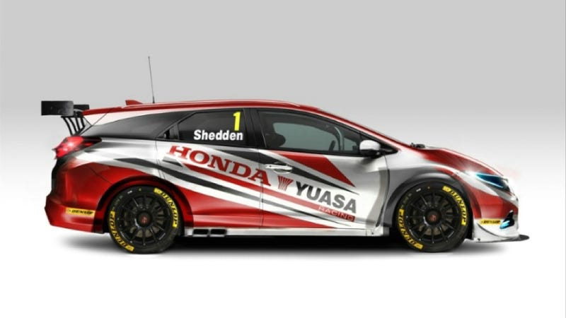 Honda Wagon Race Car Instantly Becomes Everyone's Favorite Race Car