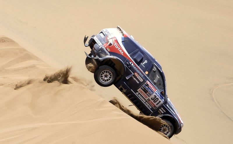 Dakar Rally: A Racing Photographer's Wet Dream
