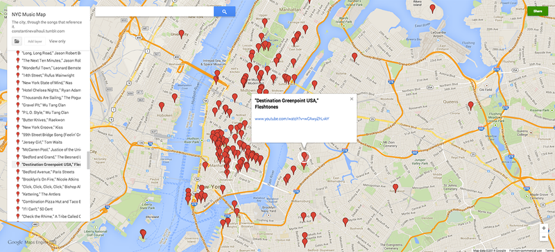 Explore New York City According to the Music It Inspired
