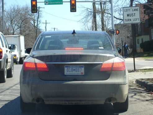 2009 Hyundai Genesis Sedan Spied Testing In Ann Arbor With New, Less-Effective Organic Camo