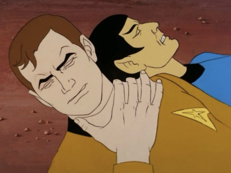 When Kirk and Spock grew gills and went all Waterworld