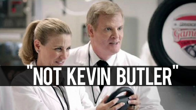 Company Says Kevin Butler Wasn't in Their Commercial with the Nintendo Wii