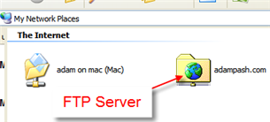 Map An FTP Drive in Windows