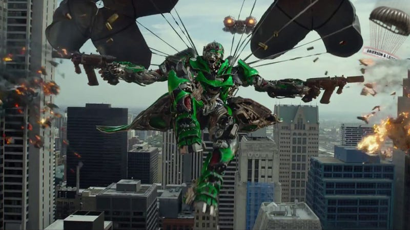 Auto-Chaotic. Transformers: Age of Extinction, Reviewed.