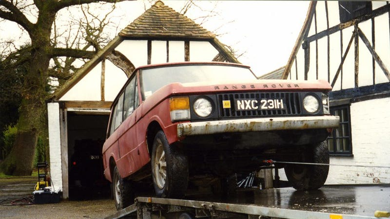 The First Production Range Rover Is Getting Restored And Sold