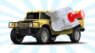 My Neighbor Anonymously Left An Angry Note On My Hummer
