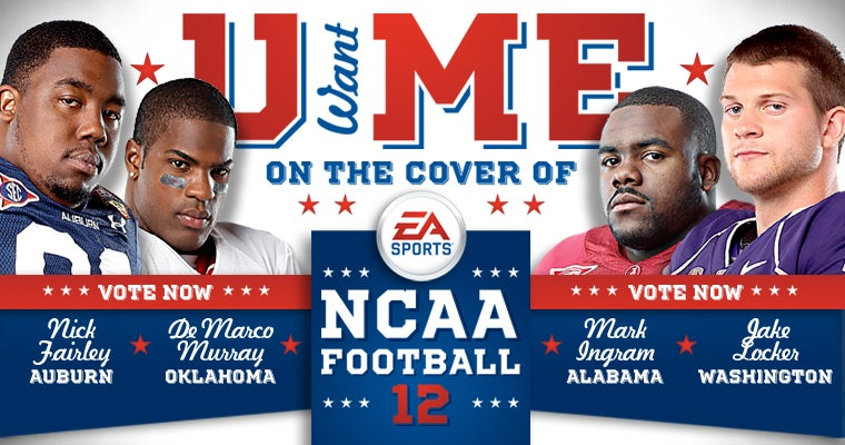 NCAA Football 12's Cover Goes Up For a Vote