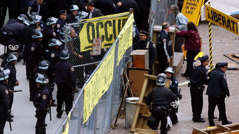 Occupy Wall Street's Losing Day in Zuccotti Park