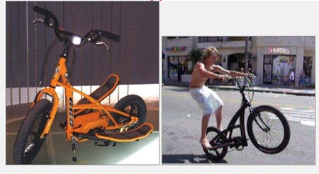 The 3G Stepper: Vertical Motion Powered Bicycle