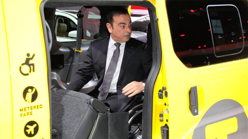 Carlos Ghosn Had A Miracle At The New York Auto Show