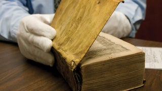 Harvard discovers two of its library books are bound in human flesh