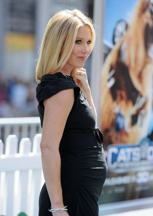 Christina Applegate Shows Off Her Latest Project