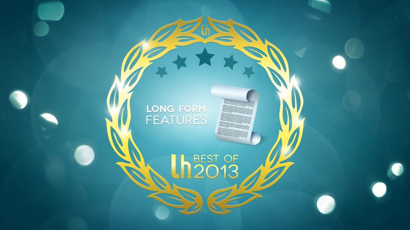 Most Popular Longform Features of 2013